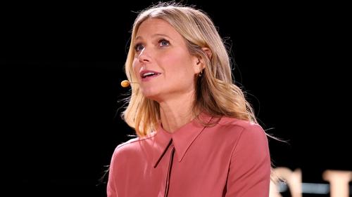 Gwyneth Paltrow has denied responsibility for the crash