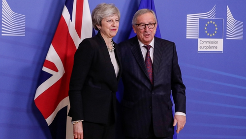 Theresa May and Jean Claude-Juncker have agreed to meet again before the end of this month