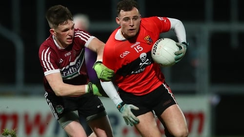 St Mary's Michael Rooney and Eimhin Courtney of UCC