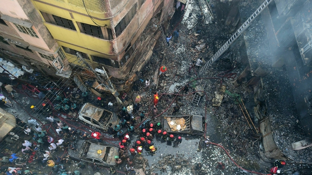 Dozens Dead After Fire in Dhaka, Bangladesh