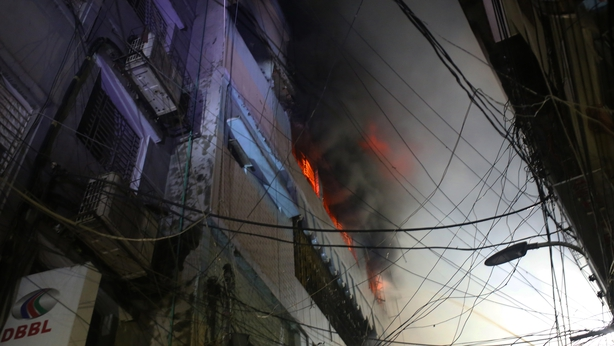 Massive fire in Bangladesh capital Dhaka kills at least 70, injures dozens