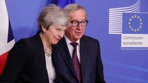 Theresa May might travel to Brussels on Monday to meet Jean-Claude Juncker