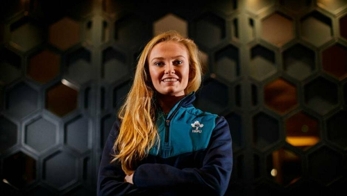 Kathryn Dane will start in an Ireland jersey for the first time on Saturday