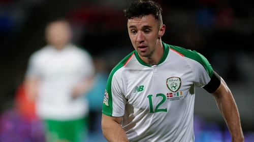 Enda Stevens is one of a group of Irish players who have donated towards a fund for League of Ireland players