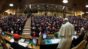 Pope Francis was speaking at the opening of the summit