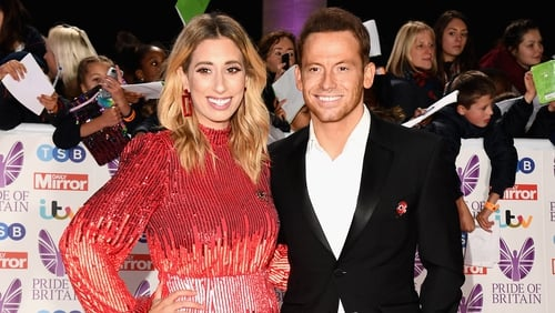 Joe Swash and Stacey Solomon welcome their first child together