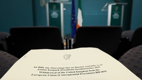 The bill will be debated in the Dáil beginning the week of 25 February