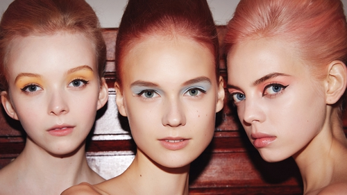 Pastels and big brows: 7 spring catwalk beauty trends to try