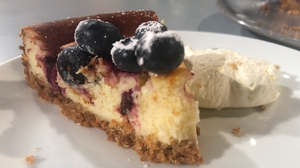 Eunice Power's Baked Lemon & Blueberry Cheesecake: Today