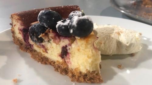 Eunice Power's Baked Lemon & Blueberry Cheesecake: Today