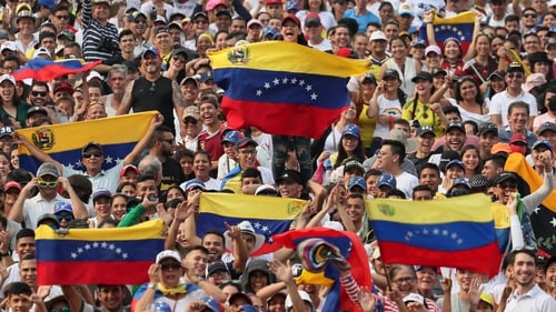 The concert is taking place in the Colombian city of Cucuta, near the border