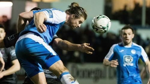 Keith Cowan's first-half goal was enough for a point for Finn Harps