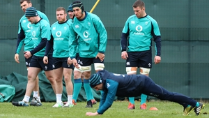Ultan Dillane and Sean Cronin are among the starters for Ireland's visit to Rome