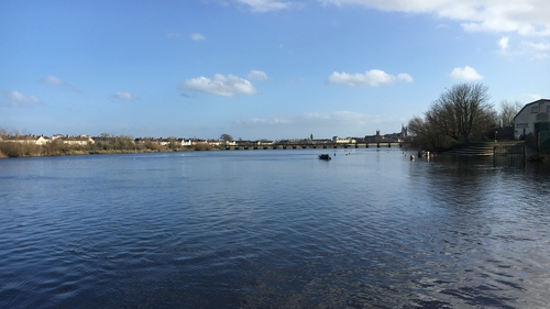 The girl was one of a group of four young females whose boat overturned in the River Shannon