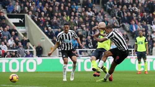 Salomon Rondon of Newcastle United