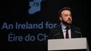 Colum Eastwood addressed Fianna Fáil delegates at the party's Ard Fheis in Dublin