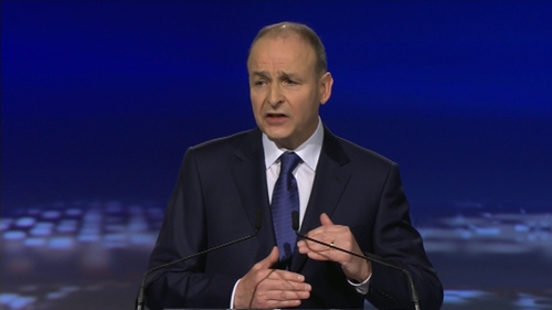 Micheál Martin said the Taoiseach's promise of €3bn worth of tax cuts if re-elected is 'not affordable'