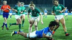 Ireland fell to a narrow loss in Parma
