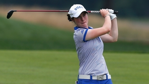 Leona Maguire had a solid outing in Australia