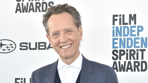 The most delighted invitee at awards season Richard E Grant picked up Best supporting male actor