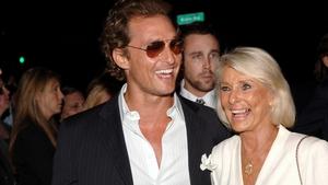 Matthew McConaughey and mum Kay