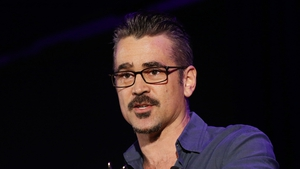 Colin Farrell said he was grateful to receive the award and to the organisation for helping entrepreneurs