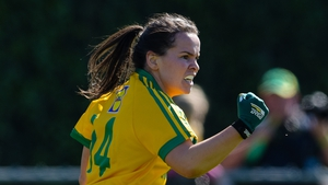 Geraldine McLaughlin starred for Donegal