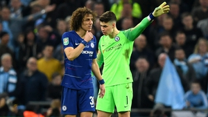 Kepa Arrizabalaga is trying to play down his substitution row