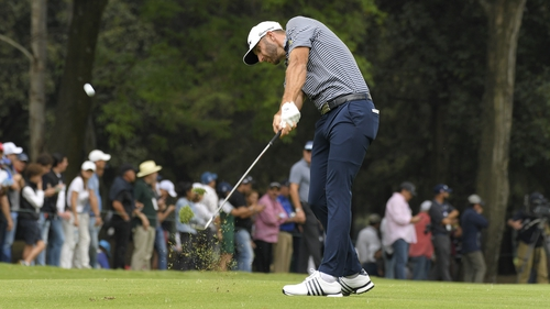 Dustin Johnson kept Rory McIlroy at bay in Mexico