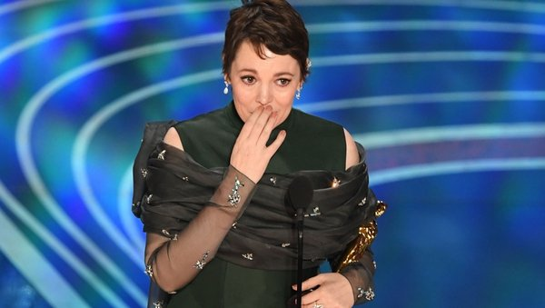 "Best Actress winner Olivia Colman paid tribute to her fellow nominees, hailing them as ""extraordinary women"""