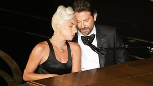 "Lady Gaga with Bradley Cooper at the Oscars - ""People saw love, and guess what? That's what we wanted you to see. This is a love song, Shallow. The movie, A Star is Born, it's a love story"""