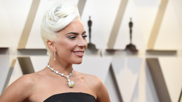 Gaga's necklace has a long Hollywood legacy