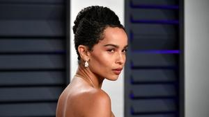Zoë Kravitz attends the 2019 Vanity Fair Oscars Party