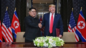 North Korean leader Kim Jong-un and US President Donald Trump met for the first time last June