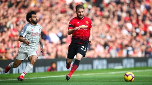 Luke Shaw starred for Man United in the 0-0 draw at Old Trafford