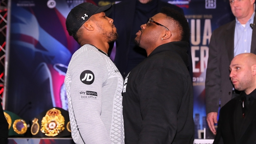 Joshua vows to 'strip Miller of his soul' in heavyweight bout