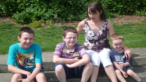 Clodagh Hawe and her three sons, Liam, Niall and Ryan, werekilled by her husband Alan in 2016