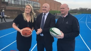 Jacqui Hurley, Keith Wood and Tony Leen (l-r) will be among the lecturers on the new Masters programme