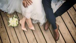 Irish couples typically spend 20 months planning their wedding.