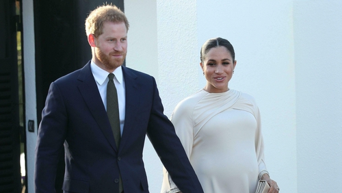 This trip was the couple's last before Meghan gives birth.
