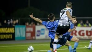 Michael Duffy fires home the winner