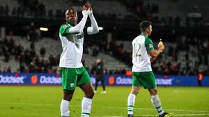 Michael Obafemi made his senior Ireland debut in Denmark last November
