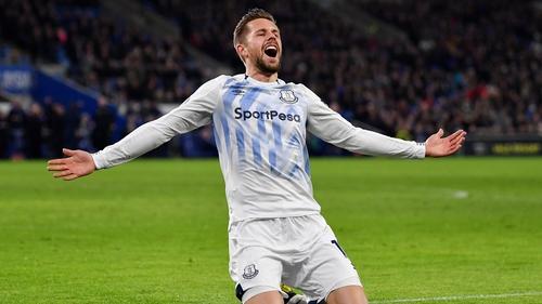 Gylfi Sigurdsson scored twice for Everton
