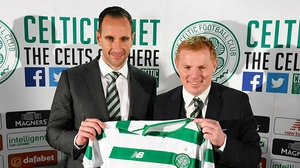 Kennedy and Lennon (credit Celtic Football Club)