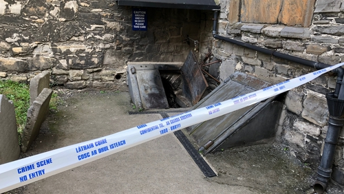 The St Michan's Church crypt was broken into over last weekend