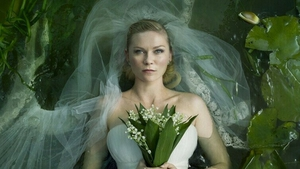 Kristen Dunst in Lars Von Trier's film Melancholia, a touchstone for the Melancholia and the Brain project.