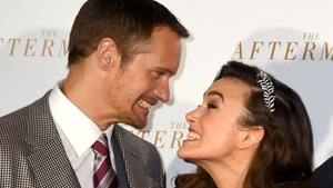 Keira Knightley was full of praise for her The Aftermath co-star Alexander Skarsgard