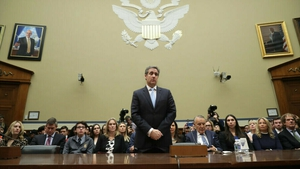 Michael Cohen is before a House of Representatives committee