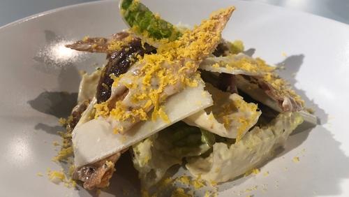 A tasty Chicken Caesar Salad from Mark Moriarty.