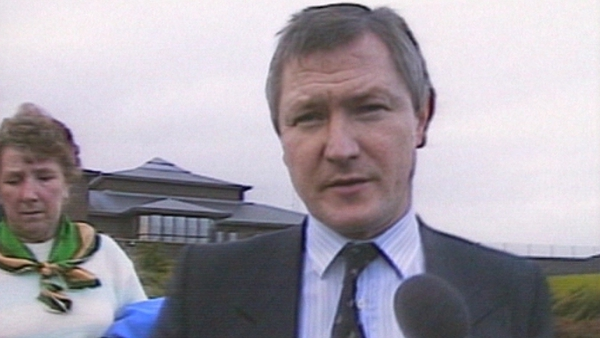 Belfast solicitor Pat Finucane was shot by loyalist paramilitaries in front of his family in 1989